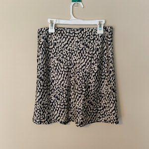 Princess Polly Silky Patterned Mini Skirt